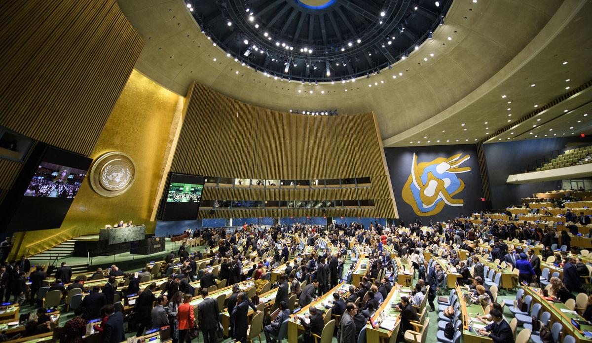 Asamblea general naciones unidad - UN